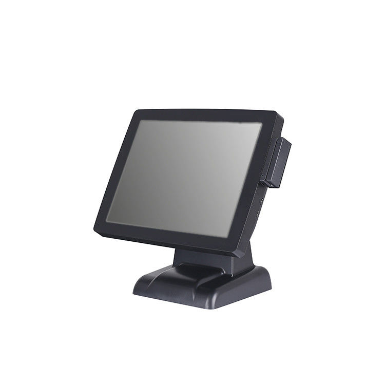 15 Inch Retail Cash Register , Resistive Touch Screen Restaurant Pos System