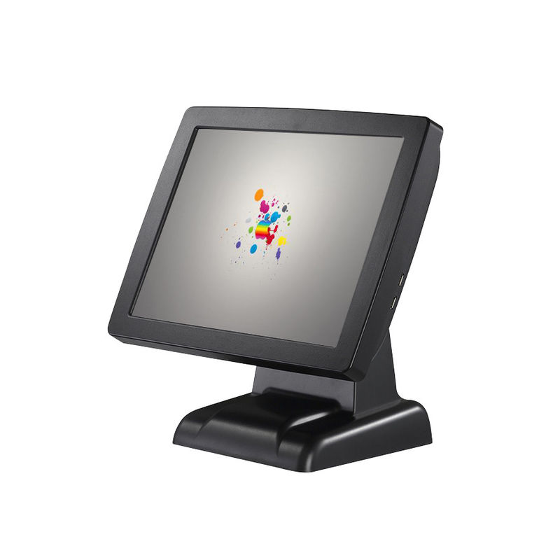 Capacitive Touch Panel Pos Computer System High Brightness With HD LCD Monitor